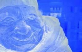 Финляндия: Выставка ледяных скульптур открылась в Северном Саво