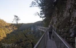 Грузия, каньон Окаце и водопад Кинчха