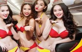 Стюардессы в бикини откроют Россию напрямую