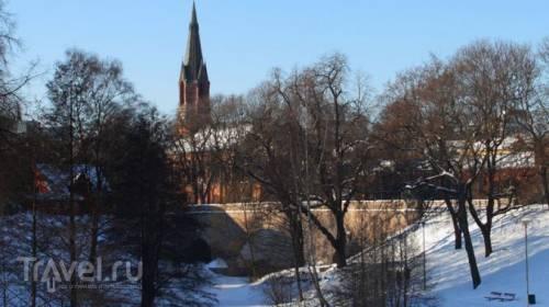 Один зимний день в Осло