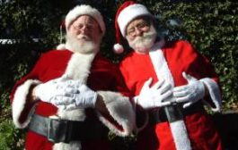 Дед Мороз и Санта Клаус путешествуют по России
