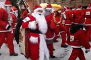 В Москве пройдет парад Дедов Морозов