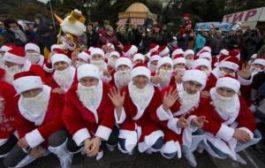 Деды Морозы ходят строем, или как в Крыму готовятся к Новому году