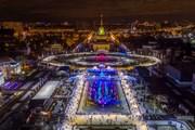 В Москве открылся крупнейший в мире искусственный каток