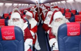 Пассажиры 41 самолета встретят Новый год на высоте 10 000 метров