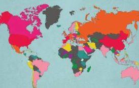 Самые обсуждаемые места, города и страны в 2017 года