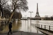 В Париже затоплены улицы, частично закрыто метро