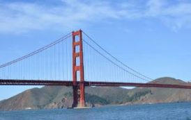 Через мост Golden Gate на велосипеде
