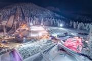 Крупнейший в мире снежный лабиринт построили в Польше