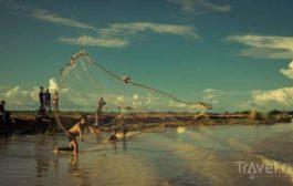 Кампонг Плук. Деревня на сваях на озере Тонле Сап