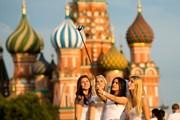 В Москве лучшие места для селфи обозначат стикерами