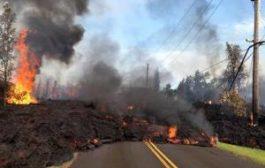 Гавайи накрыло лавой и засыпало пеплом