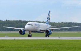 Авиакомпания Ellinair пополнила парк еще одним лайнером Airbus 320