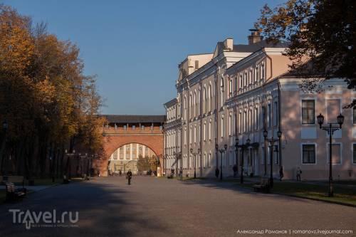 Новгородский детинец: северная часть