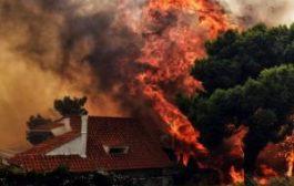 В Афинах объявлено чрезвычайное положение из-за пожаров