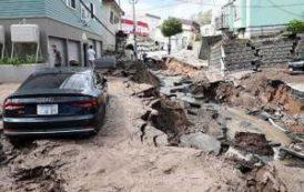 Вслед за тайфуном на Японию обрушилось еще одно бедствие