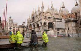 Венеция уходит под воду: затоплены 75% города