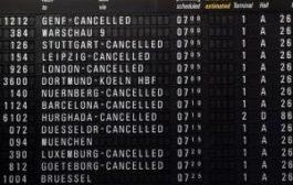 Авиасообщение Германии парализовано. Аэрофлот отменил рейсы